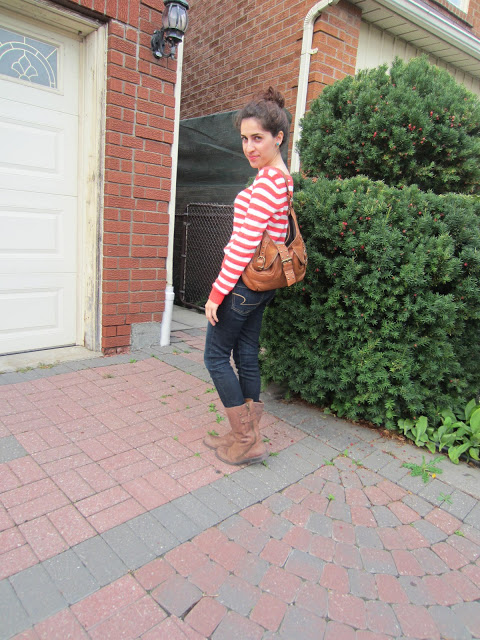 Outfit Of The Day: Stripes!