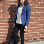 Outfit Of The Day: Blue Blazer