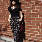Outfit of The Day: How I Styled Floral Pants