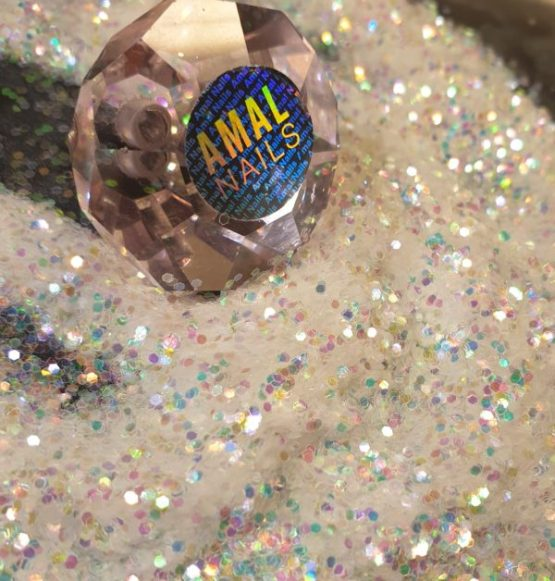 Clear Holographic Chunky Glitter