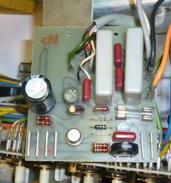 a50 a78 amplifier capacitor preset pot upgrade kit [ 1600 x 1200 Pixel ]
