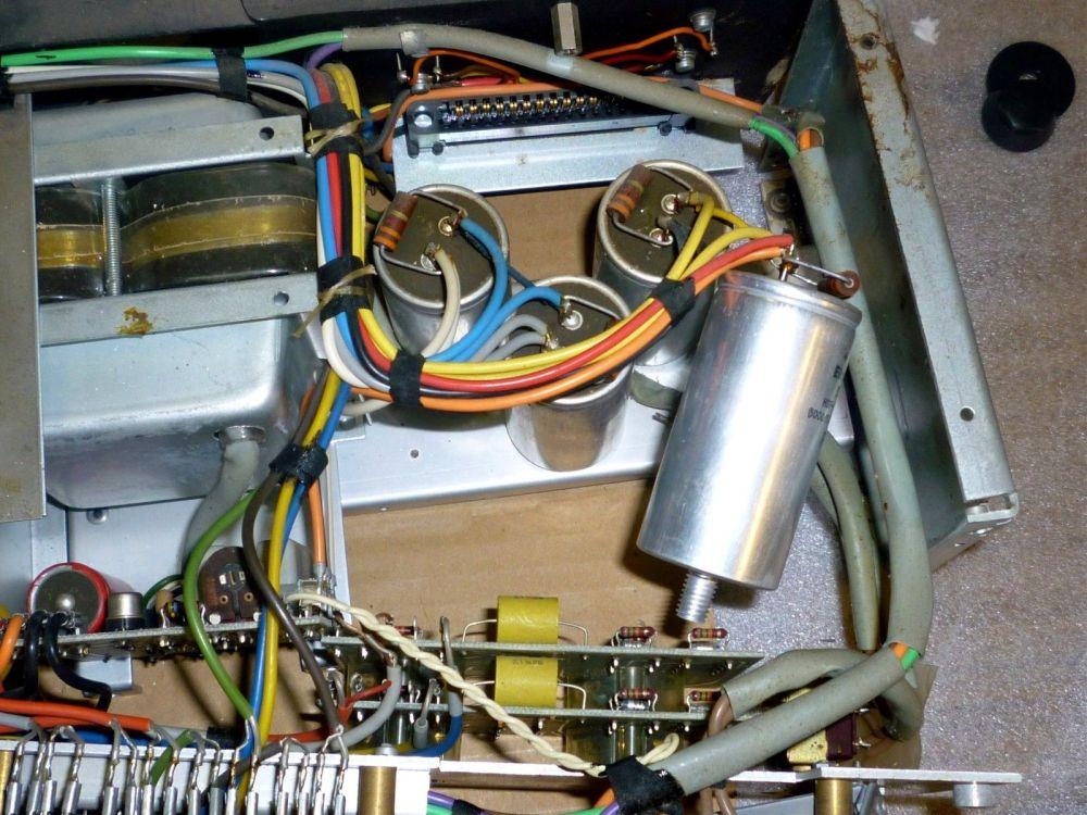 medium resolution of a50 a78 amplifier capacitor preset pot upgrade kit