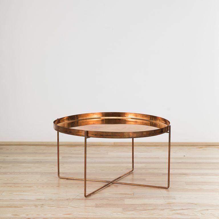 cm05 habibi copper coffee table 30 cm e15