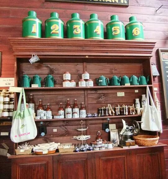 Soverign Hill, Ballarat - Sovereign Hill - Tea Merchant Shop