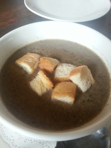 The Fat Cat Bistro - Mushroom Soup