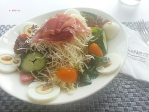 My Last Day in Hong Kong in June 2014 - My Lunch, Cafe 8 Salad