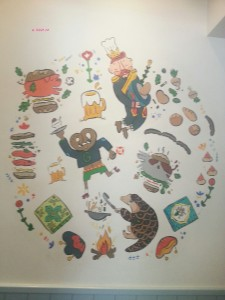 The Lokal - A wall painting