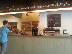 Three Hands Coffee - Cashier, Order and Drink-making Counter