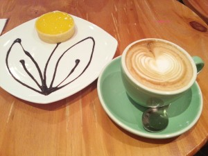 N1 Coffee & Co - My Order, Lemon Tart & Cappuccino