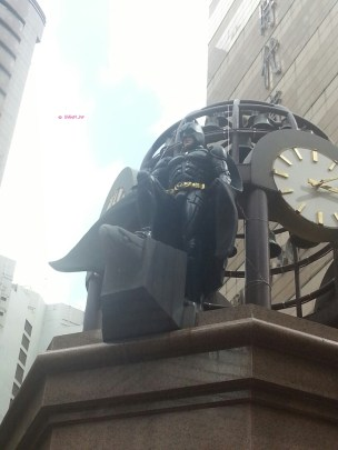 Weekend In Hong Kong In July 2014 - Batman in action