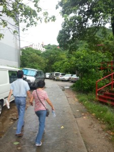 Day 1 In Hong Kong In July 2014 - Path to the Ten Thousand Buddhas Temple, Sha Tin
