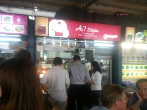 AJ Delights - Stall at Alexandra Village Food Centre