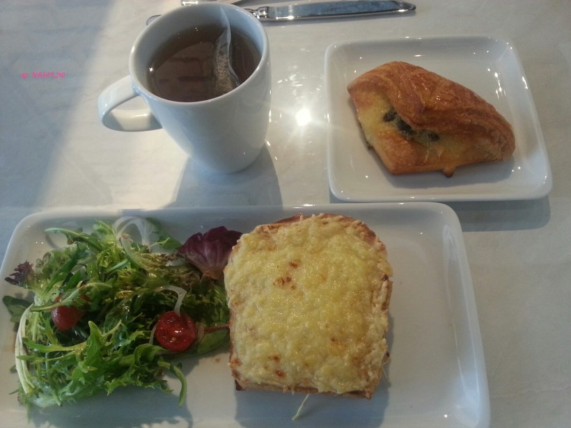 Do.main Bakery - My Lunch Set, Sandwich, Pastry and Drink