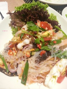 Para Thai - Glass noodle salad with seafood
