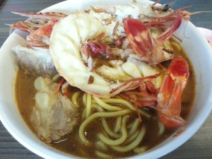Old House - Dinosaur Prawn Noodle