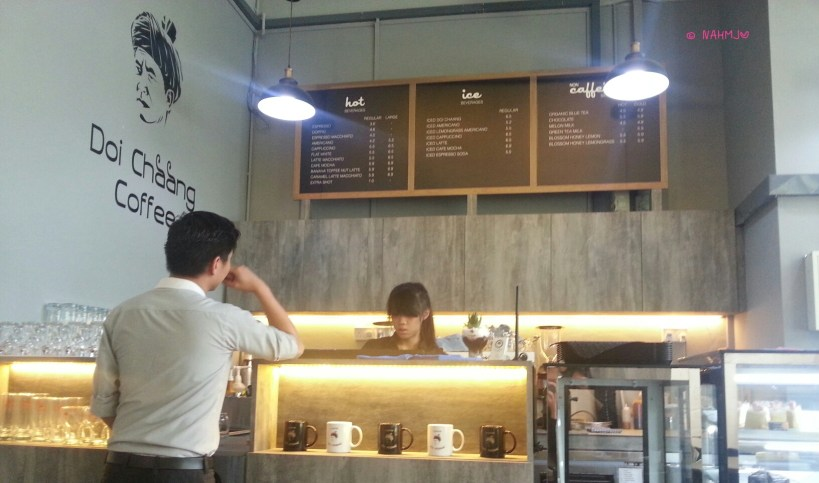 Doi Chaang Coffee - Counter