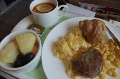 Turbojet Premier Grand Class - Breakfast - Pork Patty