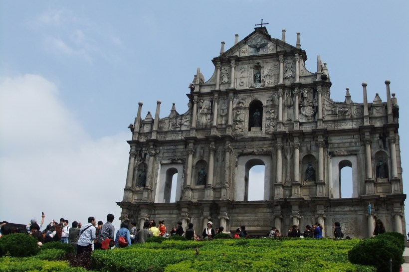 Macau Attractions - Ruin of St Paul