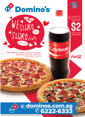 Domino's '2 Pizzas' & Express Lunch Deal - Domino's '2 Pizzas'