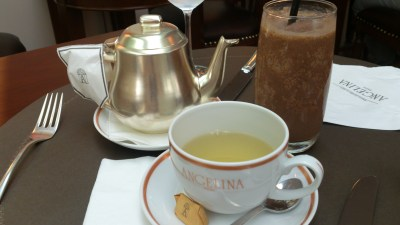 """Angelina Singapore, Tea Room & Patisserie - Angelina Blend and Old-fashioned Ice Chocolate """"L'Africain"""""""