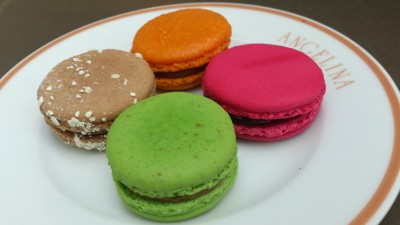 Angelina Singapore, Tea Room & Patisserie - Four Small Macarons