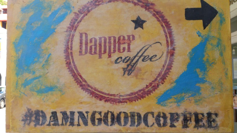 Dapper Coffee - Signage