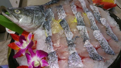 Fu Lin Men Dou Lao Singapore - Fresh Live Seabass(whole) 金目鲈