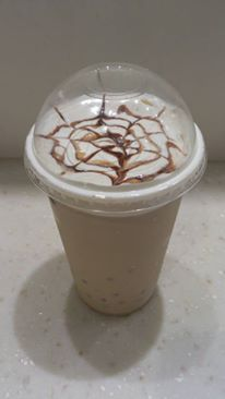 Meow Square Cafe - Cheese Milk Tea with Yogurt Popping Boba