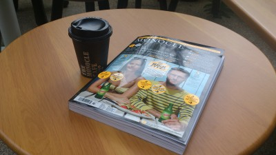 Monocle Singapore - Cappuccino and Monocle July/August Publication