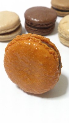 Angelina Macarons - Chocolat Passion (Chocolate Passion fruit)