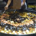 Papito's Kitchen - Paella Serving in Progress