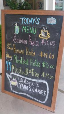 Lynn's Cakes & Coffee - Menu