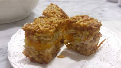 Yum Cha Chinatown - Pumpkin Yam Golden Cake 金瓜竽丝糕 (3pcs)