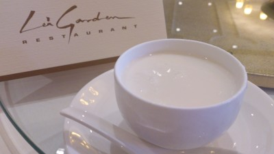 Lei Garden Restaurant Singapore - Home-made Almond Sweetener with Egg White