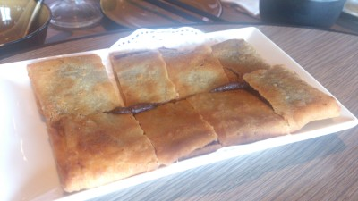 Paradise Dynasty - Pan Fried Pancake with Red Bean Paste