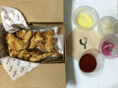 Best Korean Fried Chicken In Singapore For 2015 - Wabar, Crunchy Wings