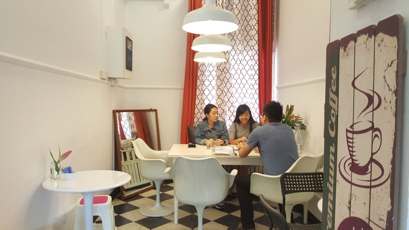 The Pantry Chefs - A view of the cafe