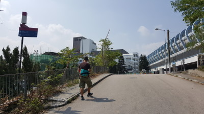 Ping Shan Heritage Trail - Turn right to continue the trail
