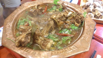 Restaurant Manchurian 满族全羊铺 - Beijing City Lamb Spine Claypot Stew 老北京羊蝎子锅