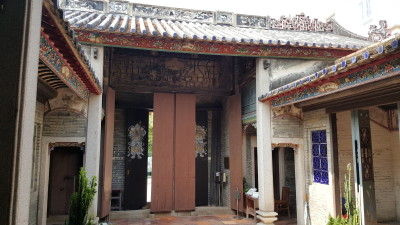 Ping Shan Heritage Trail - Kun Ting Study Hall (觀廷書室) Behind the door