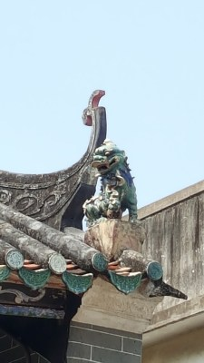 Ping Shan Heritage Trail - Tang Ancestral Hall Roof