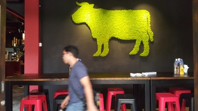 The Butchers Club Singapore - A view of the Burger Restaurant