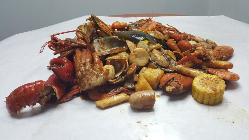 Ju Dian BBQ Restaurant On StarTaster - Our Seafood Bucket from Ju Dian BBQ Restaurant