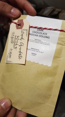 Sinseh The Grocery - Dark Chocolate Mocha Oolong Tea