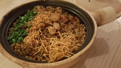 Fivefold Fortune Reunions at Spice Brasserie - Abalone Glutinous Rice with liver Sausage
