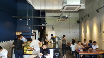 Atlas Coffeehouse - Overview of Cafe