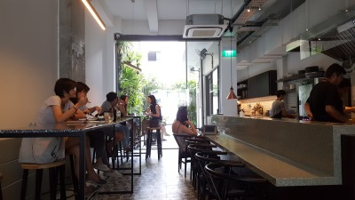 The Punch Cafe Singapore - Overview of Dinning Area