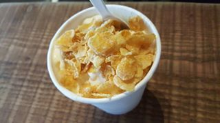 Sinseh The Grocery - Single Scoop of Ginger Serai with Corn Flakes topping