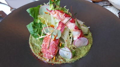 Verre Modern Bistro And Wine Bar - Appertiser, Half Lobster Salad ($38)