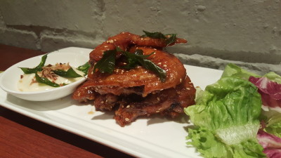 The Sapling, SHATEC Training Restaurant - Chicken Wings With Rock Honey Sauce ($7)